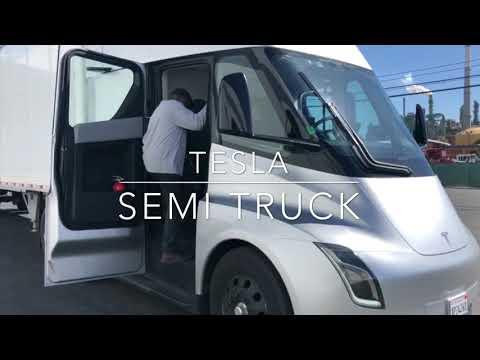 Tesla Semi Truck (Outside and inside)