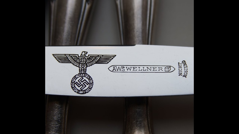 Table knife set Wellner 3rd Reich Germany