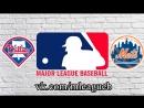 Philadelphia Phillies vs New York Mets | 08.09.2018 | NL | MLB 2018 (2/3)