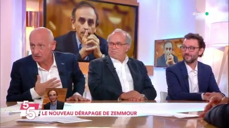 Jean Michel Apathie sur le livre de Zemmour : On donne la parole à un type comme ça ? Il est devenu fou là !