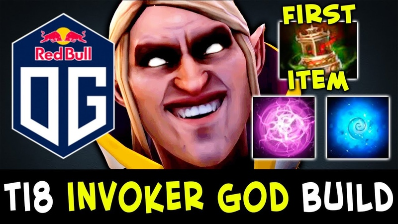 New OG Invoker GOD TI8 surprize BUILD by Topson