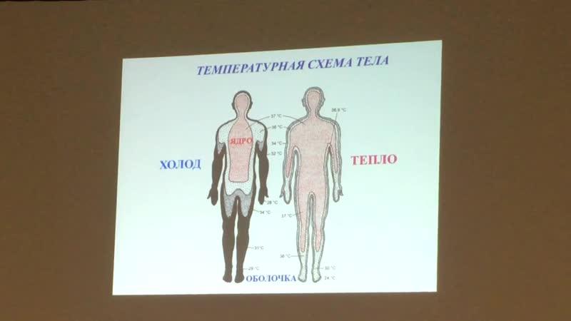 Физиология обмена веществ и энергии. Физиология терморегуляции. Лекция 8 (часть 2)