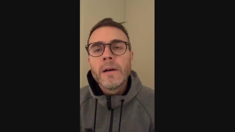 Gary Barlow Instagram 14-12-18