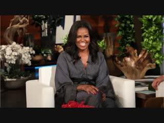 Ellen Puts Michelle Obama in the Hot Seat