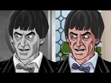 Doctor Who The Power of the Daleks (animated) - fan trailer (B&ampW and Colour versions)