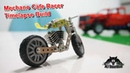 Meccano Clone Harley Road king Cafe Racer Time lapse build
