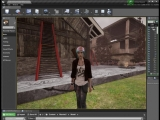 UE4Editor Playing with boxes. Telekinesis. Weapon QuickSwitch.