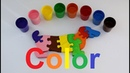 We learn colors with children we paint a dog colors/учим цвета с детьми раскрашиваем собаку
