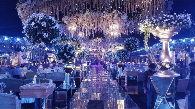 Amazing Wedding Decoration at Tree Lounge Restaurant | Daniyal Ali