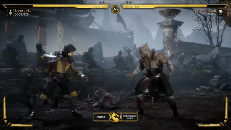 MORTAL KOMBAT 11 Gameplay Demo Baraka Vs Scorpion (2019) PS4_Xbox One_PC.mp4