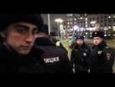 Полицаи изолируют прессу с протеста