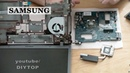 Samsung 355V5C Disassembly and cleaning Разборка и чистка ноутбука