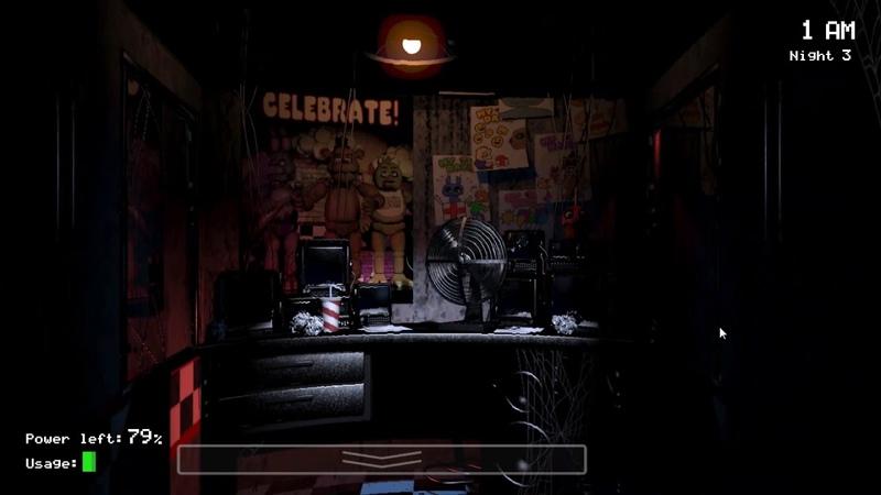 8Bit: Five Nights at Freddy's [3 Ночь] [Прохождение]