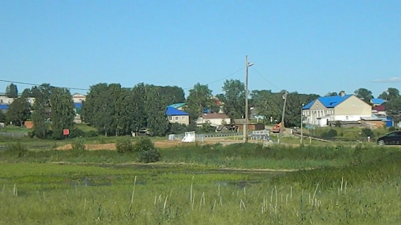 вид на село Кочёво