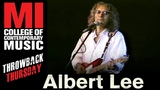 Albert Lee Throwback Thursday From the MI Library