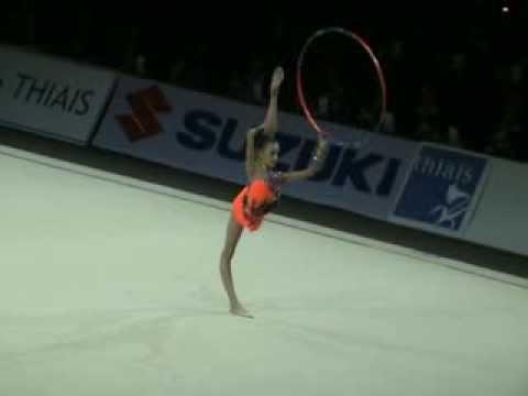 Яна Луконина - обруч (многоборье) Гран-при Тье 2008