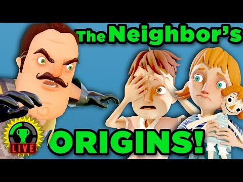 Finding SECRETS in the Official Hello Neighbor Prequel Hello Neighbor Hide and Seek