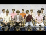 РУС.СУБ. NCT 127 Talk Empathy + Love For Fans + More! - Exclusive Interview