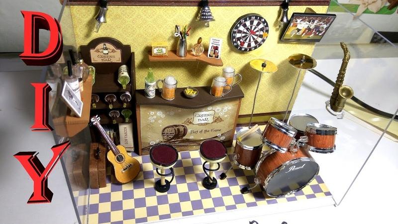 Румбокс бар с музыкальной шкатулкой