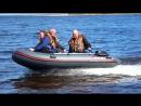 Трое в лодке Хантер 330 А, не считая мотора