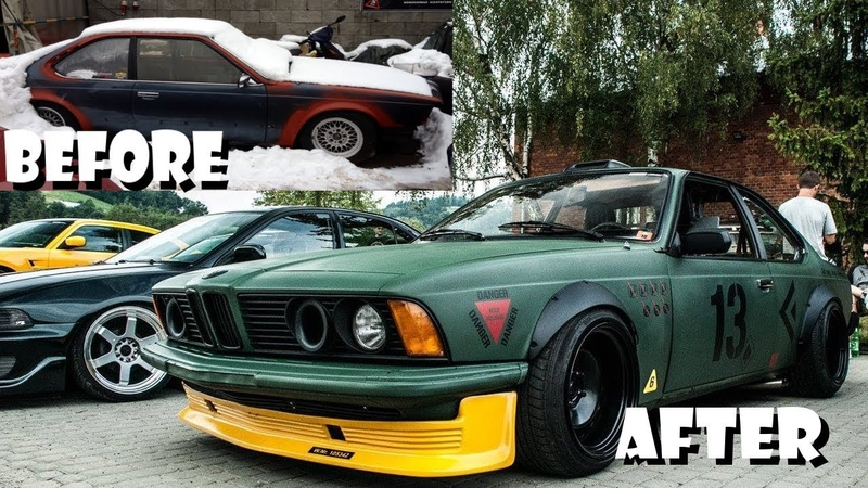 BMW E24 633 635 CSI Coupe Project B-WEHR Tuning Project Overhaulin