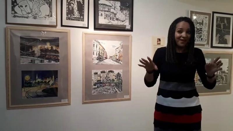 Лекция ХУДОЖЕСТВЕННЫЕ СТИЛИ И ПРИЁМЫ на выставке РАЗНОЦВЕТНАЯ ПАЛИТРА. 1 часть