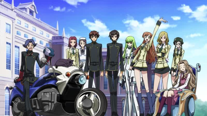 Code Geass Lelouch of the Rebellion OP EP01 08