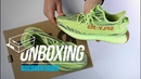 Yeezy 350 V2 Semi Frozen Yellow Unboxing Review