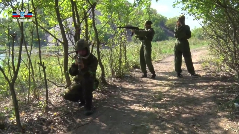 В Моспино завершились Республиканские военно-патриотические сборы «Юный боец Внутренних войск ДНР»