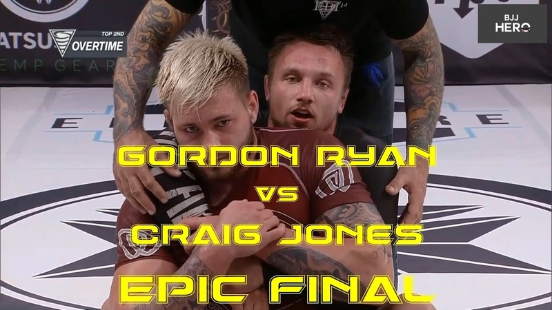 Gordon Ryan and Craig Jones Epic Finish Road to Finals at EBI 14 The Absolutes