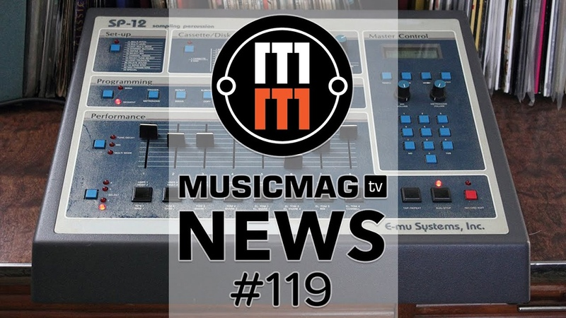 MUSICMAG TV NEWS 119: Softube Parallels, возвращение SP1200, голосовой MIDI-контроллер и др.