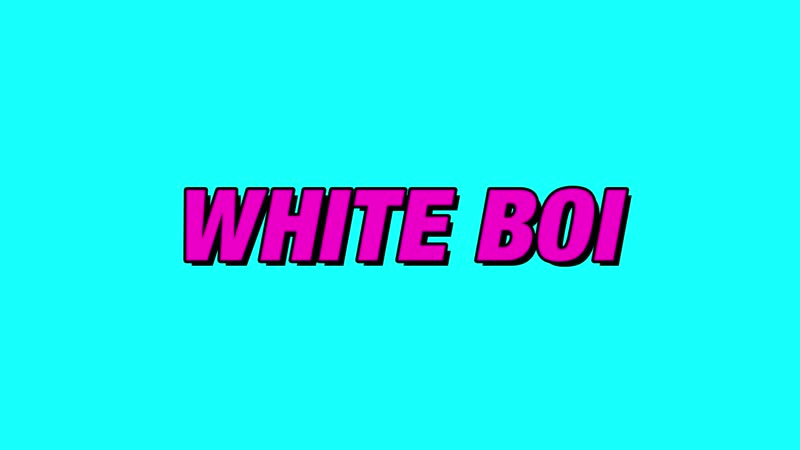 Dillon Francis feat. Lao Ra - White Boi (Official Music Video)