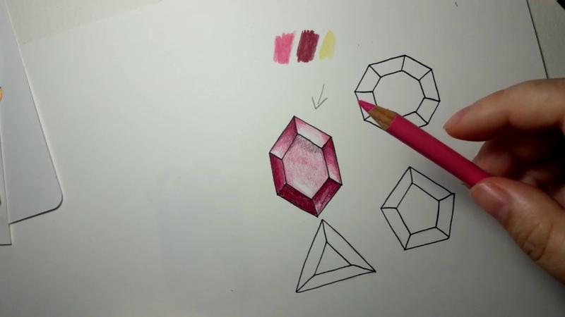 Faceted button gem tutorial