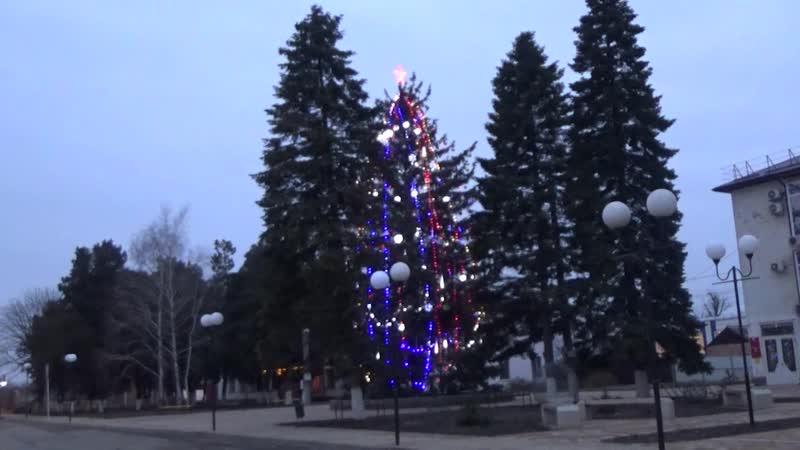 Курганинск 5-6 января 2019 года Первый снег