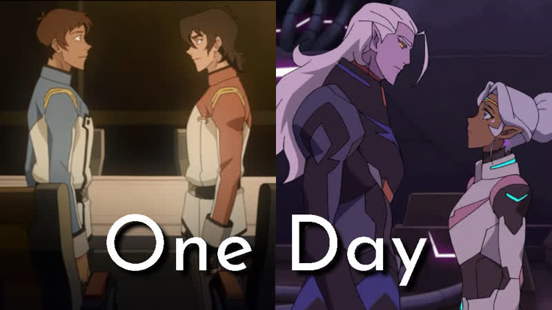 Voltron. Legendary Defender [AMV] Gary Moore - One Day | Lotura Klance