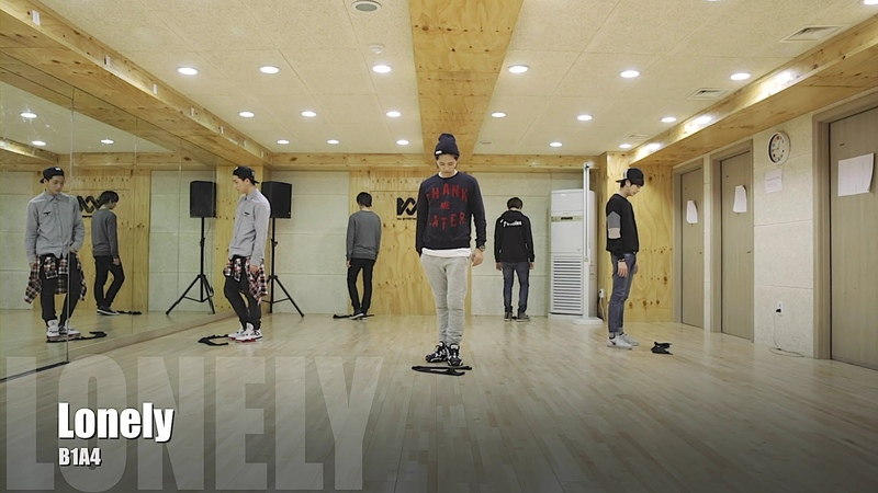 B1A4 - Lonely (없구나) 안무 영상 (Lonely Dance Practice Video)