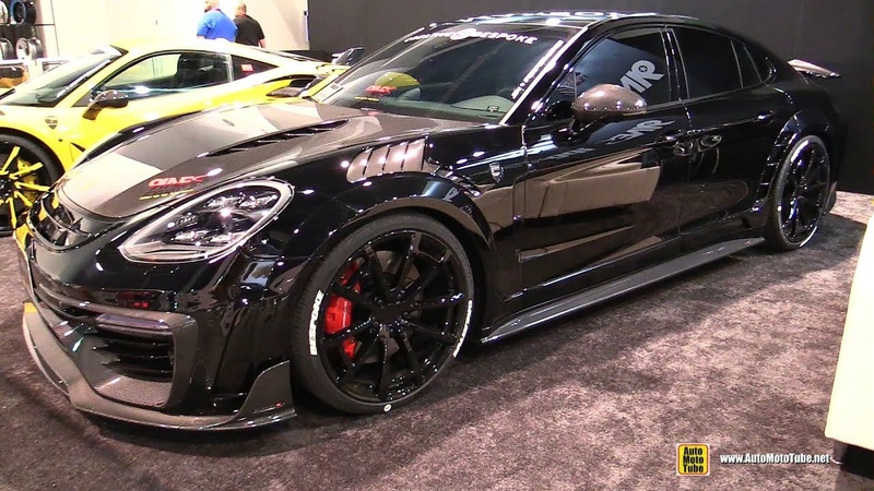 2017 Porsche Panamera Turbo Mansory Exterior Walkaround 2017 SEMA Las Vegas