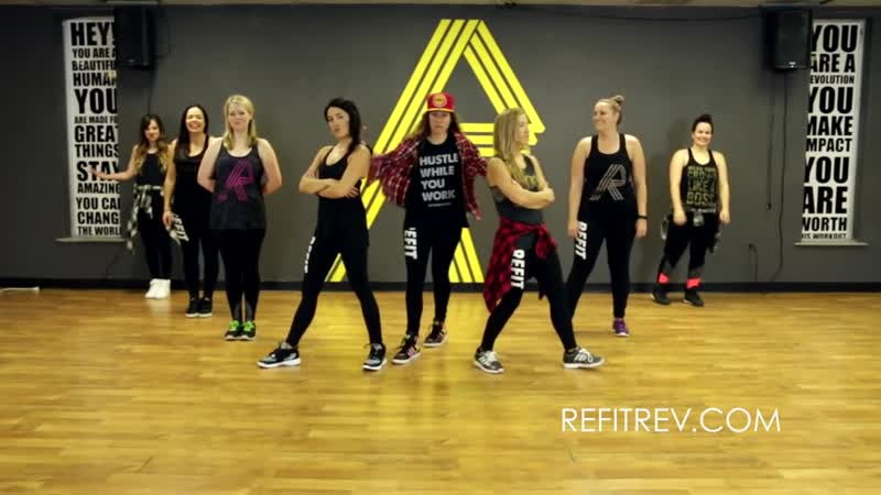 Carol Of The Bells Family Force 5 Dance Fitness Choreography REFIT® Rev
