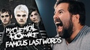 FAMOUS LAST WORDS - My Chemical Romance - (Caleb Hyles Jonathan Young)