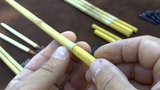 Making River Cane Arrows 19