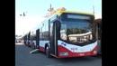 47 новеньких троллейбусов из Могилёва вышли на одесские маршруты