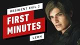 Первые 15 минут Resident Evil 2 Леон С. Кеннеди (4K 60fps)