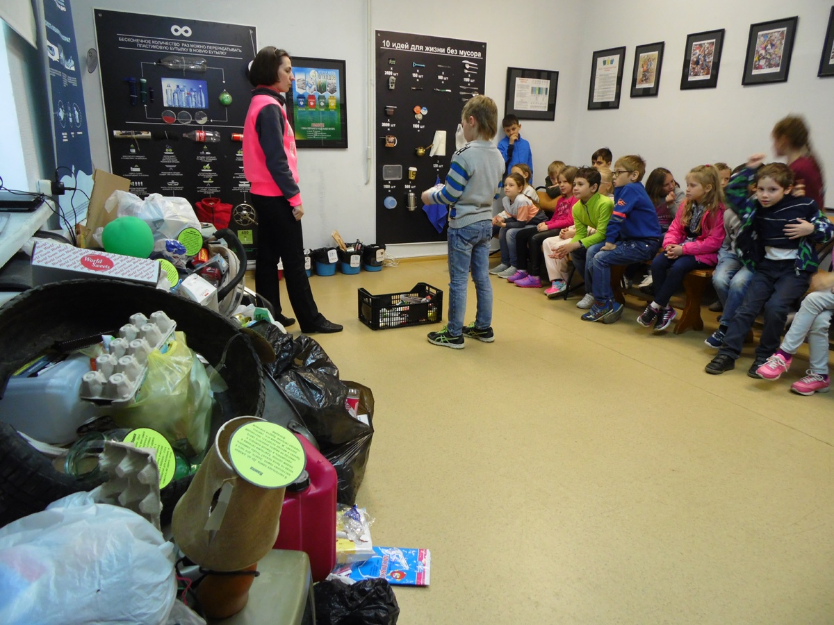 Открылась выставка «Люди и мусор: кто кого?»