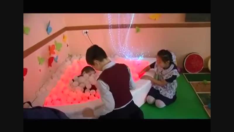 Развитие детей в сенсорной комнате (РТС Хакасия) Передача Доброе утро, Хакасия!