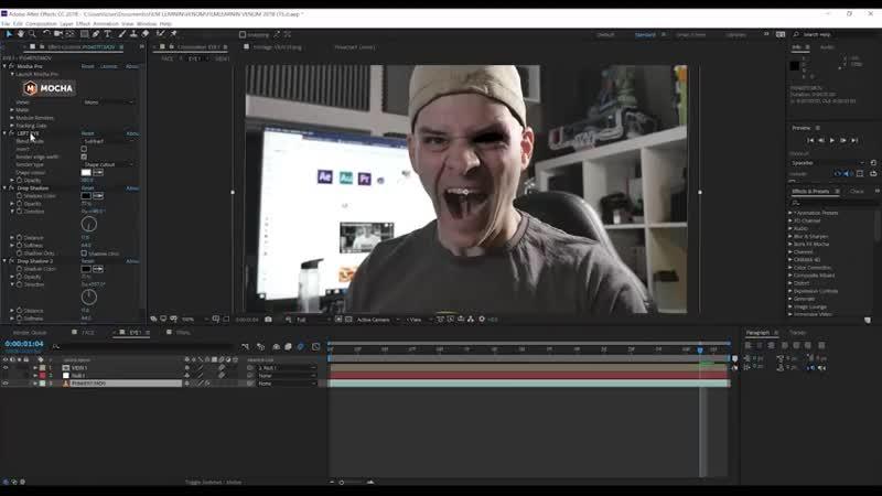 Venom Face Effect Tutorial! Film Learnin