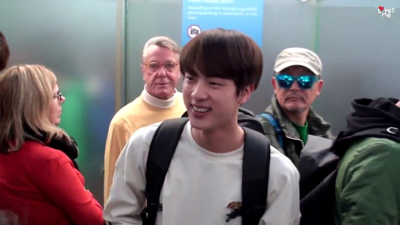[ENGESPPOR]Jin shy by ARMY compliment