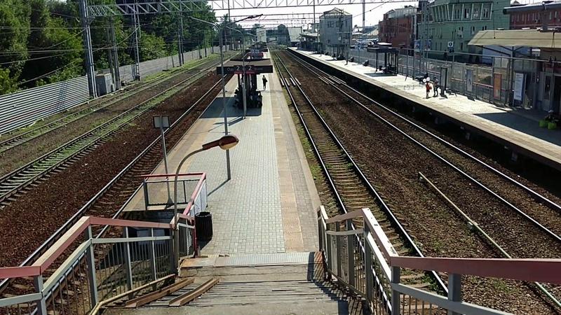 Будущее МЦД: станция Одинцово (лето 2018)
