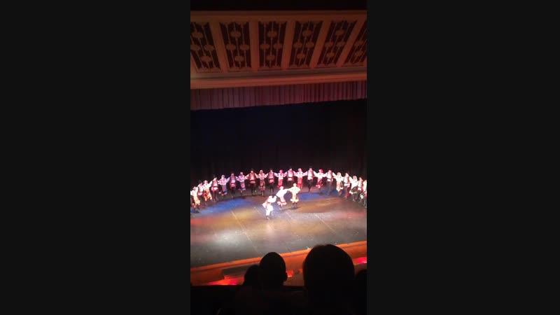 Молдавский танец. Танцы народов мира. Балет Игоря Моисеева