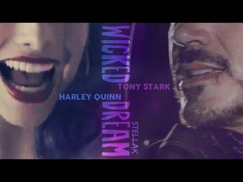 Tony Stark Harley Quinn wicked dream