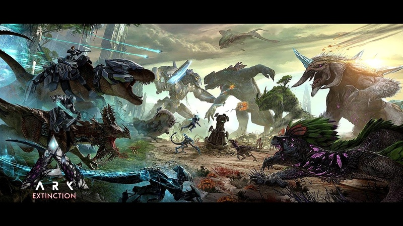 Ark Survival Evolved Extinction OST Corrupted Area